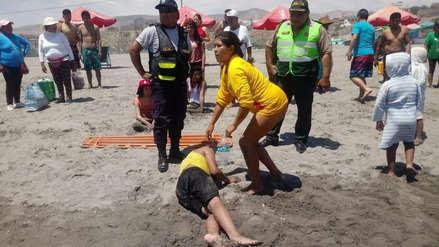 Video | Viaje de promoción a playa de Arequipa casi termina en tragedia