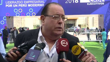 Julio Velarde: Limpiar la corrupción y tener un Poder Judicial más honesto es positivo para todos