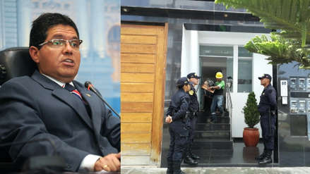 Fiscalía allana departamentos de excongresista Michael Urtecho