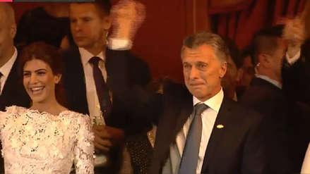 El llanto de Mauricio Macri al término de una función teatral dedicada a líderes del G20