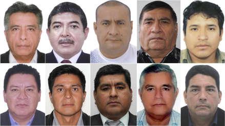 Los alcaldes y gobernadores que han sido detenidos por presuntos vínculos con organizaciones criminales
