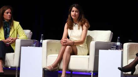 """Mía Perdomo: """"Las empresas con mujeres en posiciones de liderazgo son hasta 26% más rentables"""""""