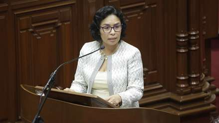 Patricia Balbuena presentó su renuncia al Ministerio de Cultura