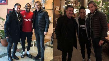 Selección Peruana: Ricardo Gareca se reunió con Farfán y Cueva en Rusia | FOTOS