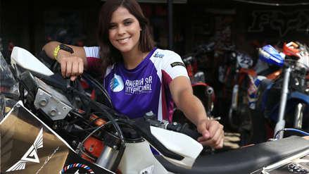 Gianna Velarde, de superar cáncer a ser la primera peruana en moto del Dakar