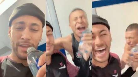 Neymar troleó a Mbappé: lo invita a cantar y acaba en ridículo