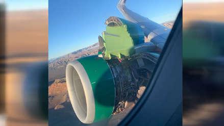 Estados Unidos | Pasajeros vieron cómo motor de un avión se despedaza en el aire