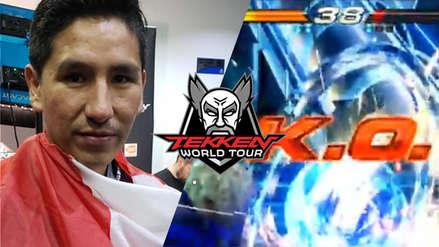 Peruano Abel Del Maestro queda fuera de las clasificatorias para el Tekken World Tour en Ámsterdam