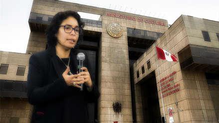 Ministerio de Cultura: De irregularidades en una licitación a la renuncia de la ministra Balbuena