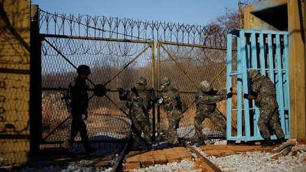 Un soldado norcoreano desertó al Sur a través de la frontera militarizada