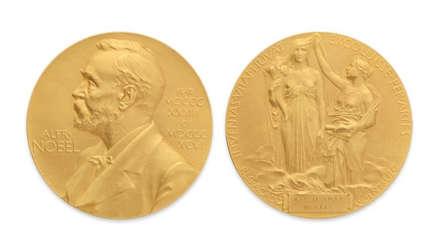 Subastan en 975.000 dólares una medalla del Premio Nobel de Física
