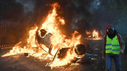 Macron sobre caos en París: