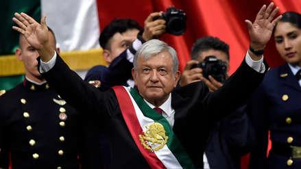 Andrés Manuel López Obrador asumió como presidente de México