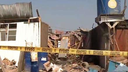 Explosión en taller clandestino de pirotécnicos dejó dos menores fallecidas en Carabayllo