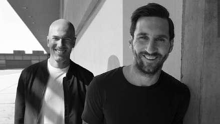 El intrigante proyecto que une a Lionel Messi y Zinedine Zidane