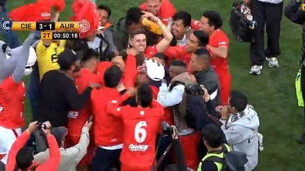 Cienciano ganó 3-1 a Juan Aurich y clasificó al cuadrangular de ascenso