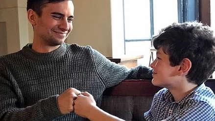 Un hombre salvó la vida de un niño de casualidad tras ver a una mujer que le gustó en una cola de donantes