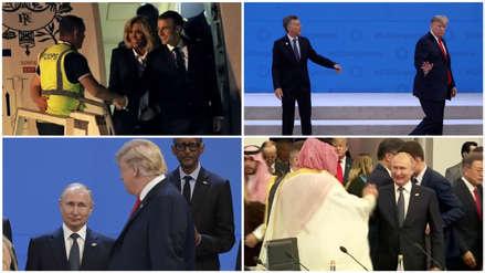 Del incómodo recibimiento a Macron al llanto de Macri: Los momentos curiosos que dejó la cumbre G20 en Argentina