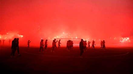 El brutal banderazo que recibió el Galatasaray previo al clásico ante Besiktas