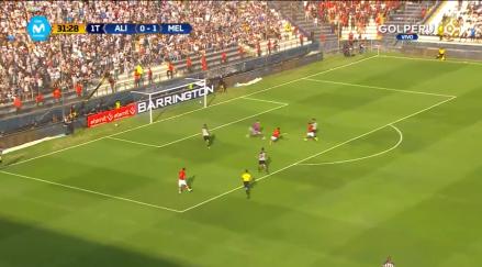 La mortal dupla Cuesta – Gonzales que le marcó este golazo a Alianza Lima