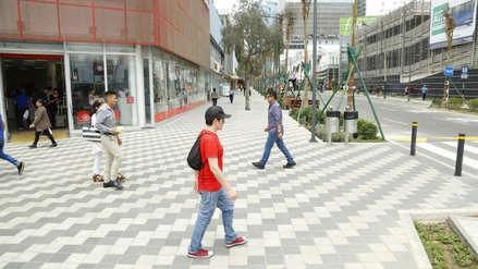 San Isidro: Calle Las Begonias será desde mañana una vía de prioridad peatonal