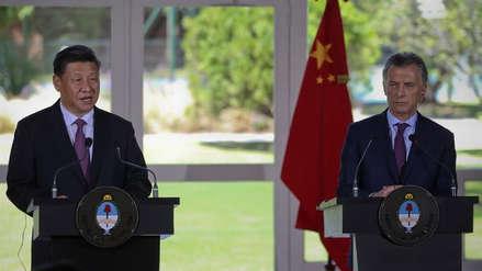 China amplía ayuda financiera a Argentina en 9,000 millones de dólares
