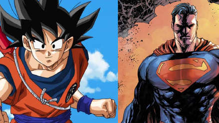 Dragon Ball   Goku and his company merge with DC Comics