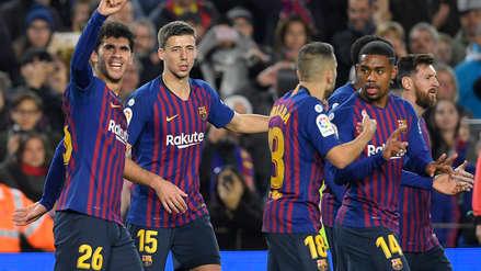 Barcelona derrotó al Villarreal por la fecha 14 de la Liga de España