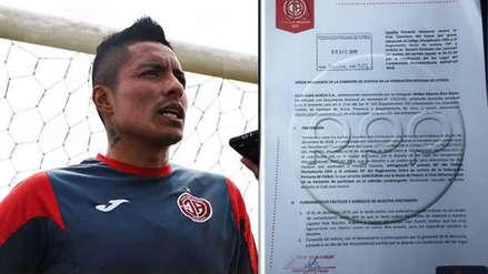 Segunda División | Juan Aurich presentó reclamo contra Cienciano por presunto soborno a Exar Rosales
