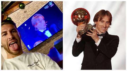 Luka Modric ganó el Balón de Oro: las felicitaciones de sus compañeros del Real Madrid y la Selección de Croacia