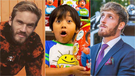 Estos son los youtubers que ganaron más dinero en 2018