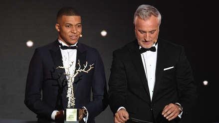 Balón de Oro | Kylian Mbappé trofeo Kopa: ganó el premio a mejor jugador joven
