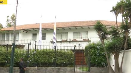 Canciller Néstor Popolizio informó que Alan García ya salió de la embajada de Uruguay