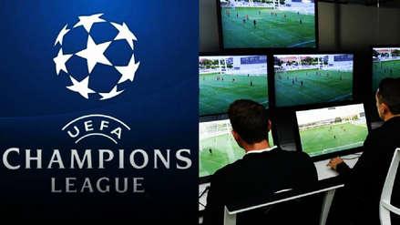 Champions League: la UEFA utilizará el VAR desde octavos de final