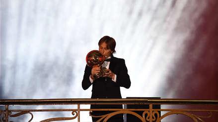 Balón de Oro 2018: Luka Modric ganó el premio al mejor jugador del mundo