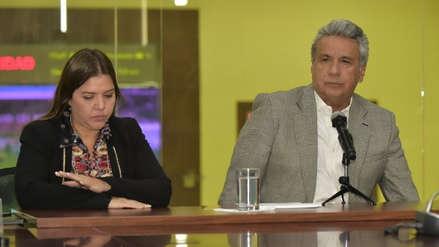 El presidente de Ecuador retiró de sus funciones a su vicepresidenta acusada de corrupción