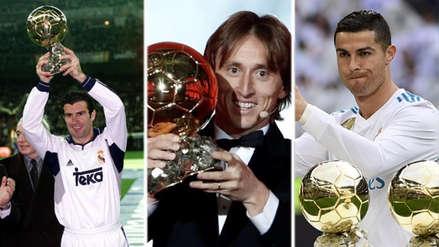 Luka Modric: todos los jugadores del Real Madrid que ganaron el Balón de Oro