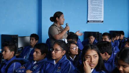 Promueven proyecto para prevenir el sexting en colegios de Trujillo