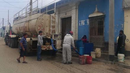 Centros de salud y colegios padecen por el desabastecimiento de agua en Ascope