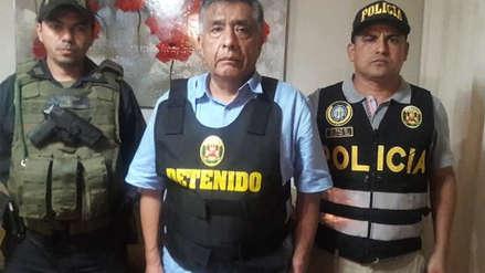 Alcalde detenido de Chiclayo recibe tratamiento para no descompensarse