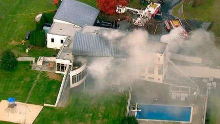 """""""Es el caso más brutal que he visto"""": incendió una mansión para ocultar la masacre de toda una familia"""