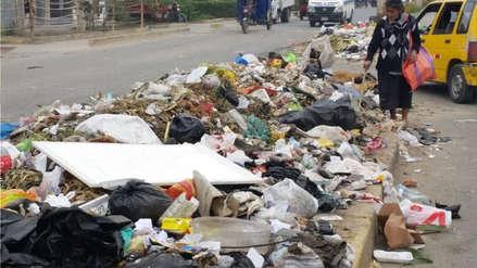 Chiclayo: por falta de combustible compactadoras no recogen basura en la ciudad
