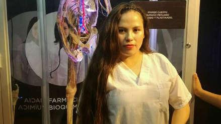 Ella es Marisol Estela Alva, la joven estudiante encontrada muerta en un cilindro