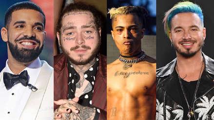 Drake, Post Malone, XXXTentacion y J Balvin son los artistas más escuchados de Spotify