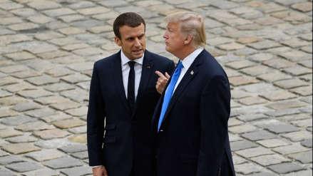 Trump: La crisis en Francia demuestra que el Acuerdo de París es