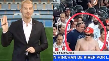 Liberman arremetió contra hincha de River Plate detenido por agresión al bus de Boca Juniors
