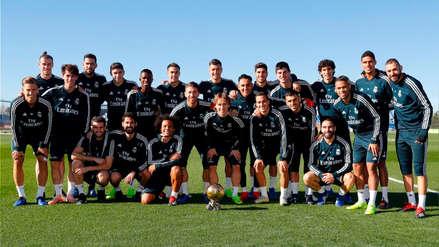 Luka Modric compartió el Balón de Oro con sus compañeros del Real Madrid