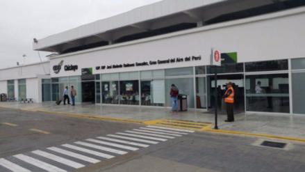Obras de remodelación en aeropuerto de Chiclayo empezarán en enero