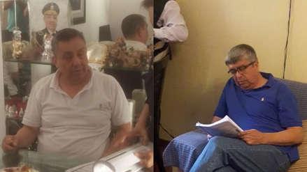 Dos generales de la PNP fueron detenidos acusados de pertenecer a 'Los Intocables Ediles'