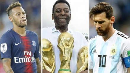 La polémicas declaraciones de Pelé sobre Neymar y Lionel Messi